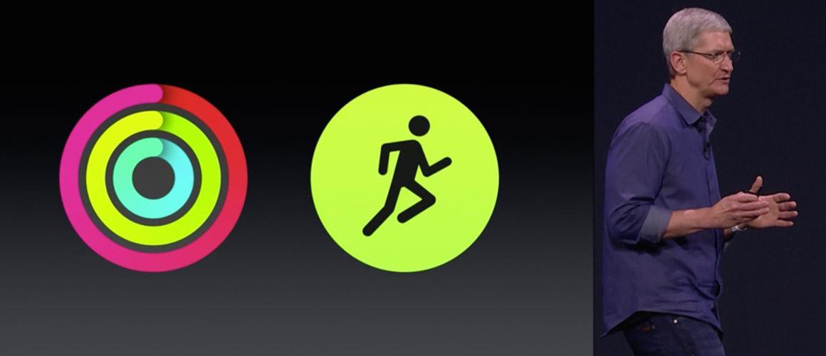 Apple Watch pushups als workout in activiteiten / health app
