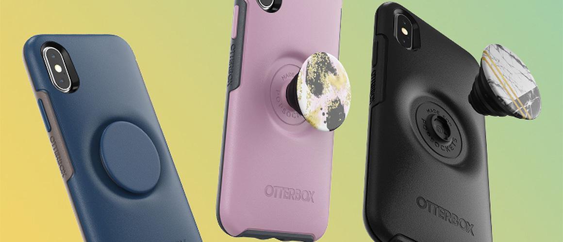 De nieuwe Otter + Pop met een ingebouwde PopSocket