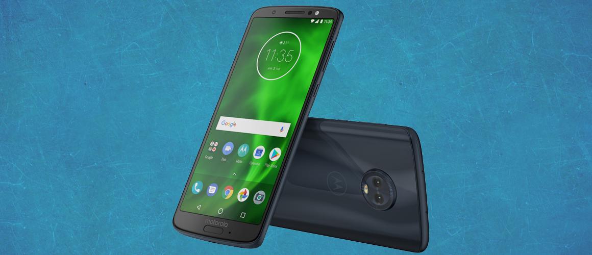 De verschillen tussen de Motorola Moto G6, G6 Plus en G6 Play