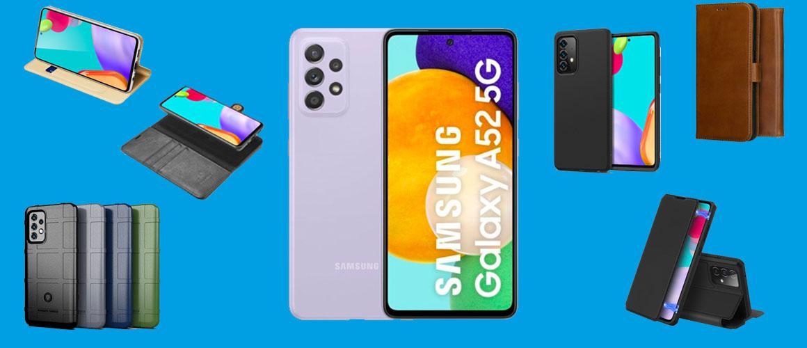 De vijf beste hoesjes voor de Samsung Galaxy A52