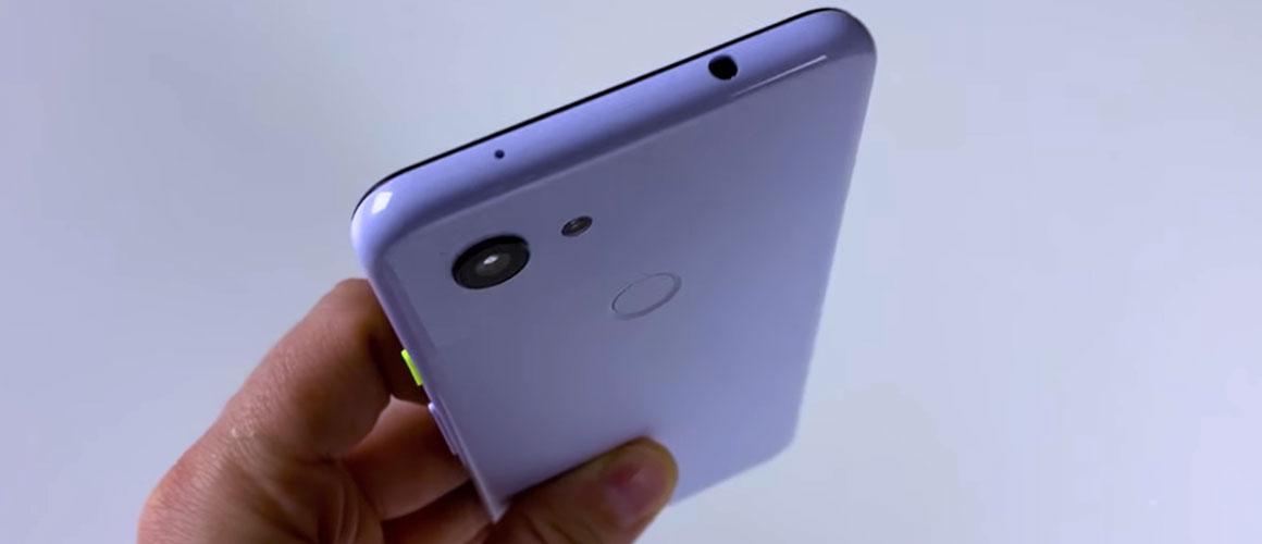 Google Pixel 3 Lite gelekt in een uitgebreide video