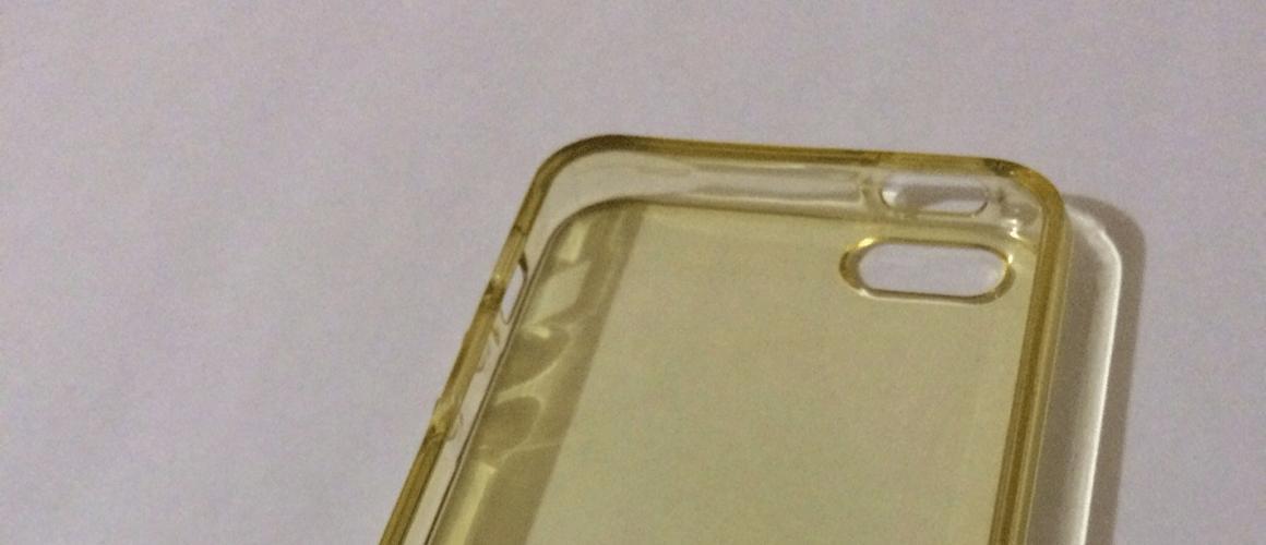 Doorzichtige telefoonhoesjes die geel worden schoonmaken?