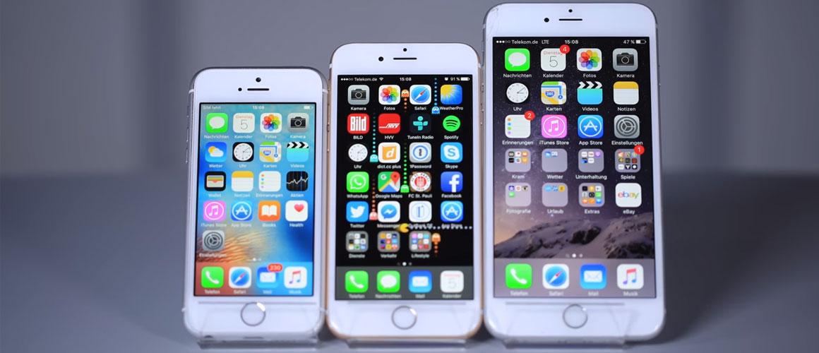 Dit is de iPhone 6SE!