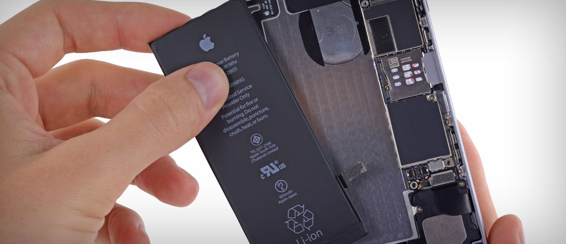 BATTERIJ IPHONE 6 VERVANGEN APPLE