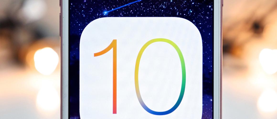 Alles over iOS 10