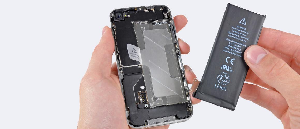 iPhone 4s batterij vervangen in vier stappen