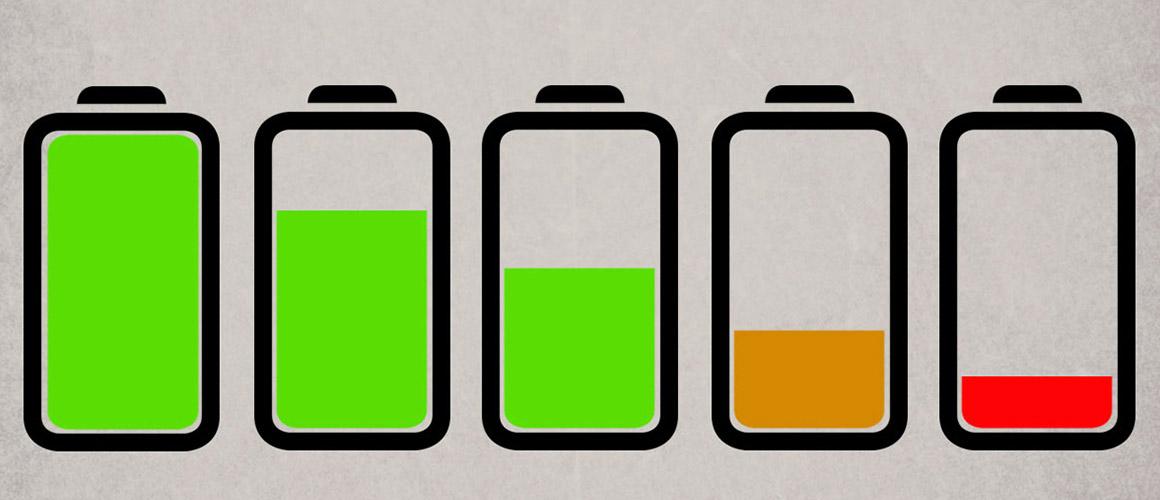 Kenmerken van een defecte telefoon of tablet batterij