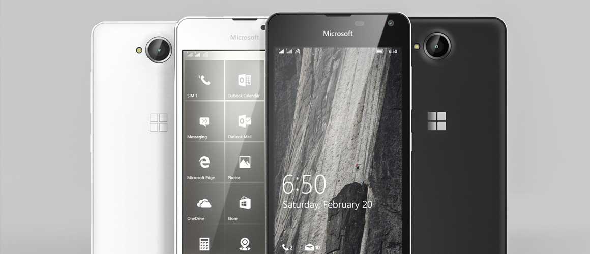 Microsoft Lumia 650 komt eerder dan verwacht