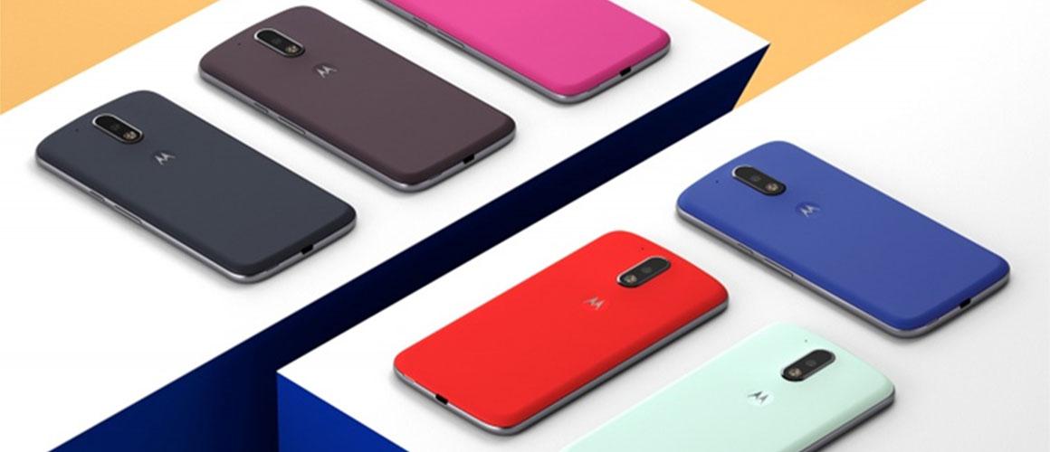 Waar blijft de originele Motorola Moto G4 case?