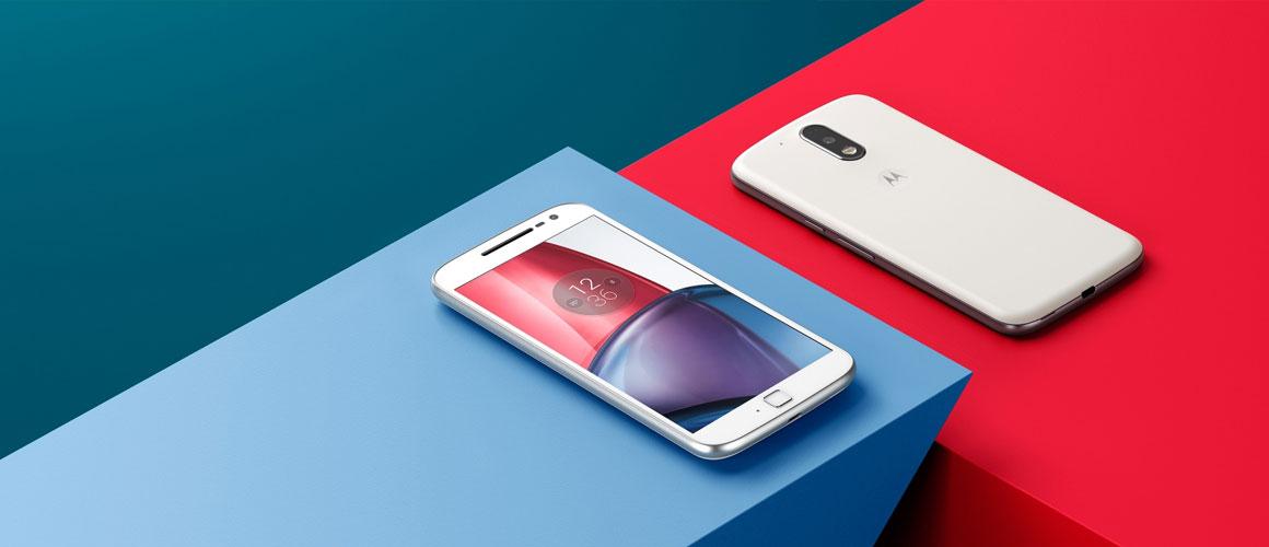 Motorola Moto G4 hoesjes nu al verkrijgbaar