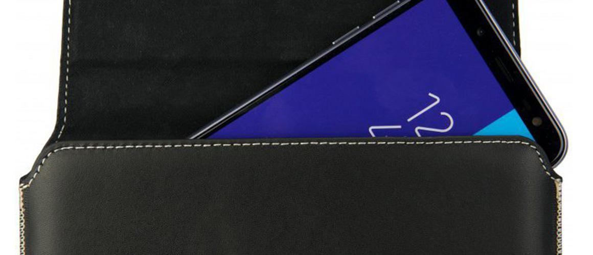 Nieuw: Rosso riemlus hoesje voor grote smartphones!