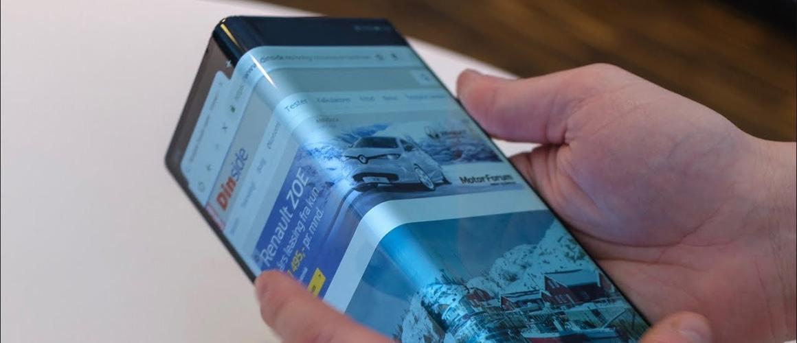 Preview van de Huawei Mate X. Informatie over de opvouwbare telefoon