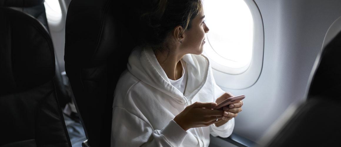 Telefoon gebruiken in het vliegtuig, je leest er hier alles over!