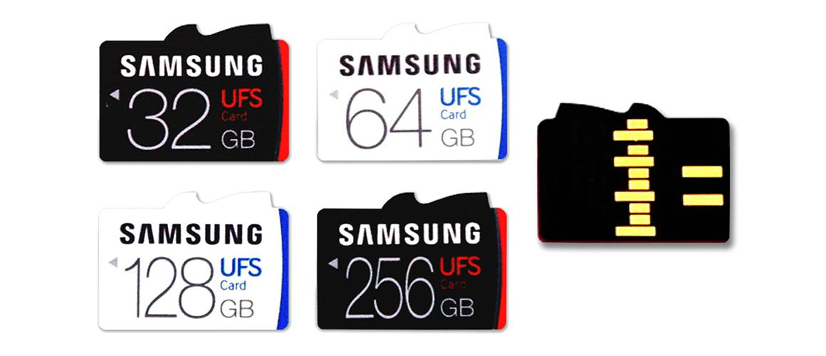 UFS het nieuwe Micro-SD