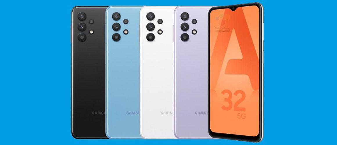 Verschillen tussen de Samsung Galaxy A32 4G en het 5G model