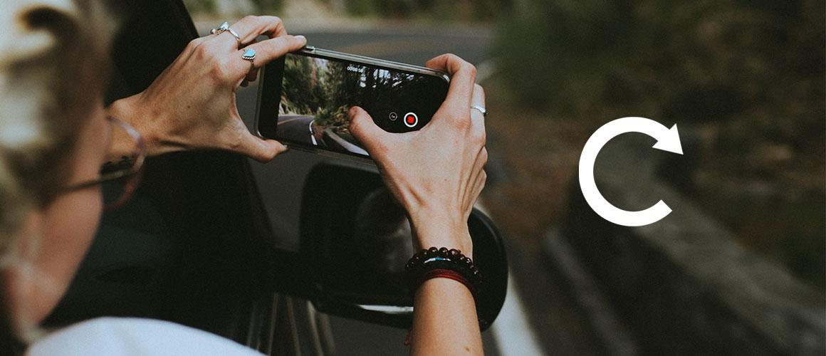 Video of scherm roteren op je smartphone? Dat is heel simpel!