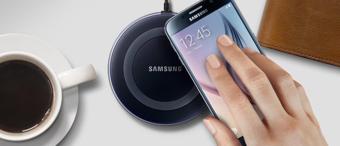Waarom een draadloze oplader kopen? Het gemak van Samsung Wireless Charging
