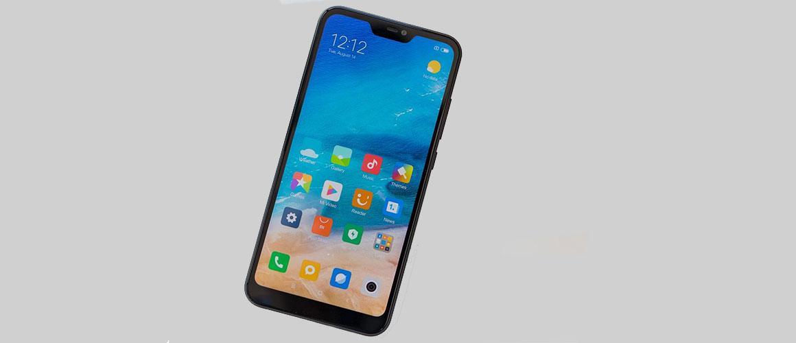 Xiaomi Mi A2 Lite door Telfort aangeboden in combinatie met abonnement