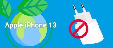 Bij de iPhone 13 wordt geen oplader meegeleverd in de doos