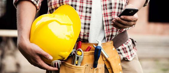 De ultieme bouwvakkerstelefoon voor jou!