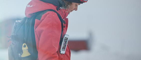 Beste bescherming voor je smartphone tijdens de wintersport