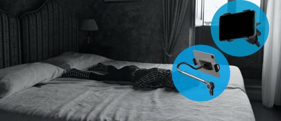De beste telefoonhouders voor in bed!