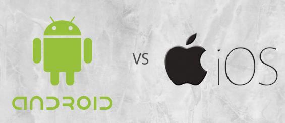 De verschillen tussen Android en IOS