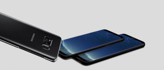 Een Galaxy S8 screen protector met een hoesje gebruiken