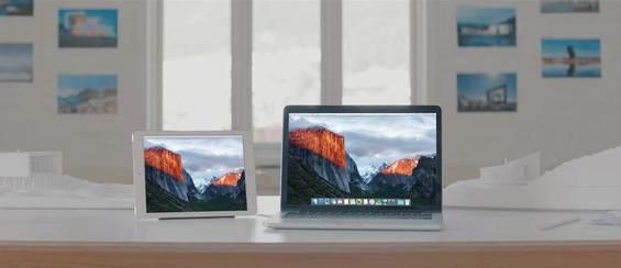 Gebruik je iPad als tweede scherm.