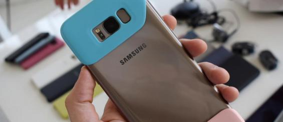 Samsung komt met vreselijk lelijk hoesje voor de nieuwe Galaxy S8