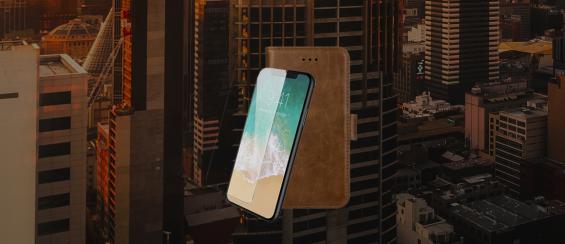 Telefoonhoesje met screenprotector