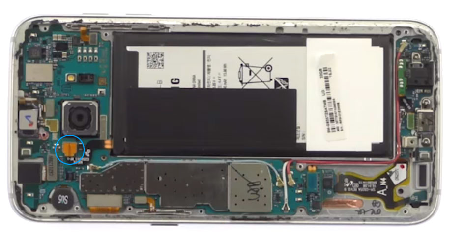 Samsung Galaxy S7 Edge Batterij