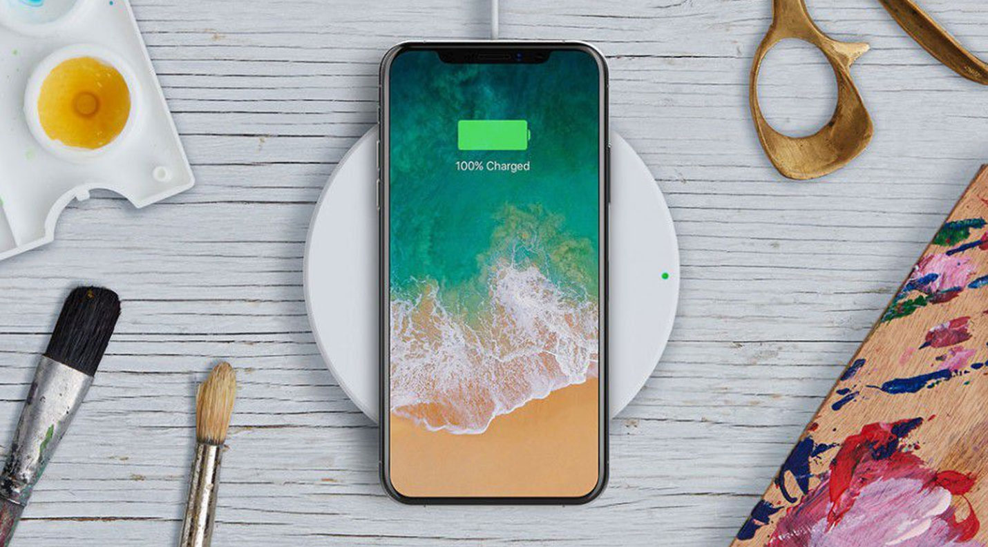 Belkin BOOST?UP draadloos laadstation voor iPhone X, 8 en 8 Plus Wit