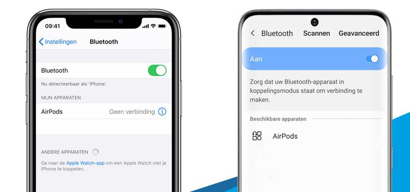 Bluetooth inschakelen