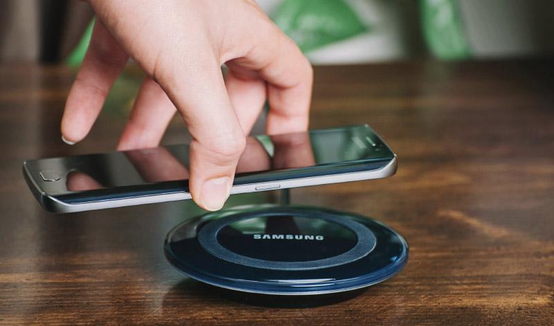 Samsung Draadloos opladen Qi