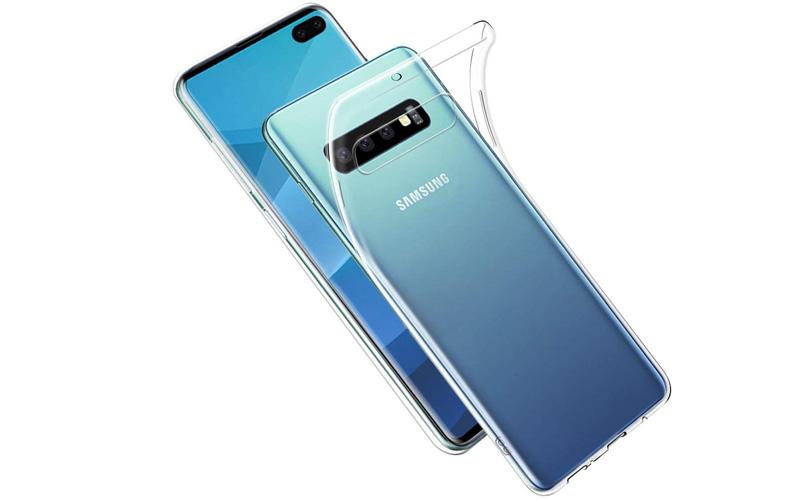 Transparant TPU Samsung Galaxy S10 Plus hoesje