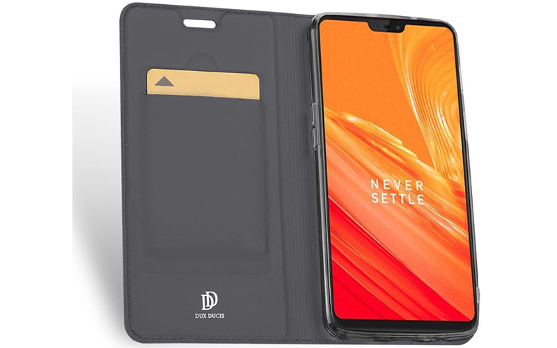 Dux Ducis OnePlus 6 Premium Bookcase Hoesje