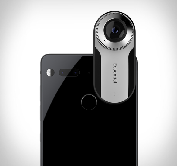 Essential Phone 360 graden camera achterzijde