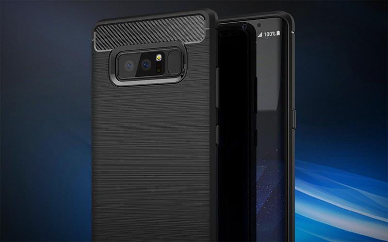 Geborsteld Galaxy Note 8 hoesje