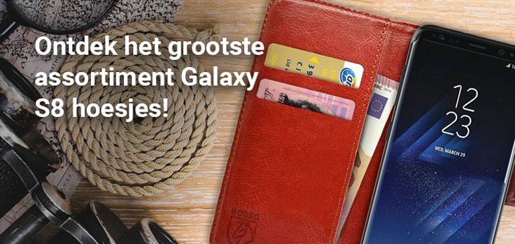 Alle Samsung Galaxy S8 hoesjes