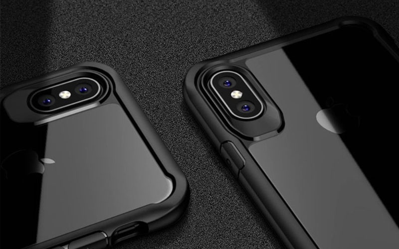 Apple iPhone X ipaky bumper case transpanrant