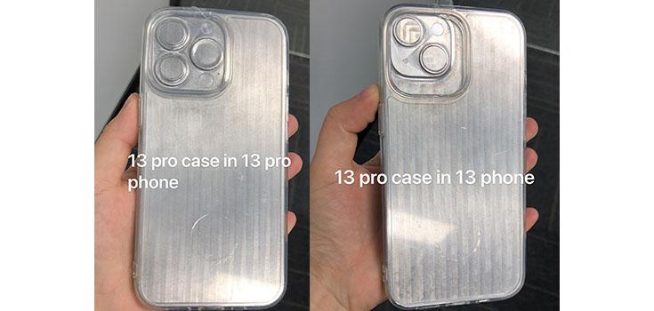 Past een iPhone 13 pro hoesje in de iPhone 13 variant