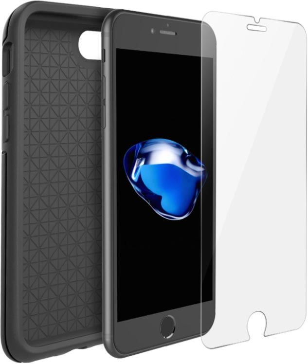 iPhone 7 hoesje met screenprotecto