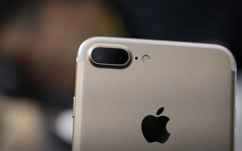 De iPhone 8 camera