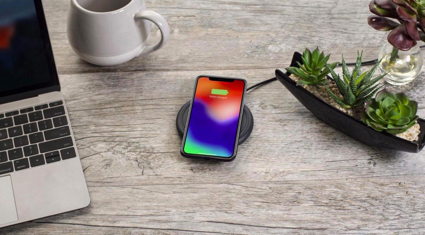 Mophie Draadloze oplader iPhone X en iPhone 8