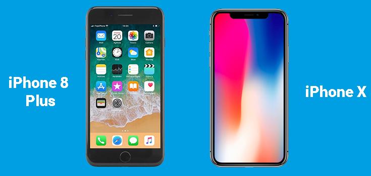 Verschil tussen iPhone 8 en iPhone X