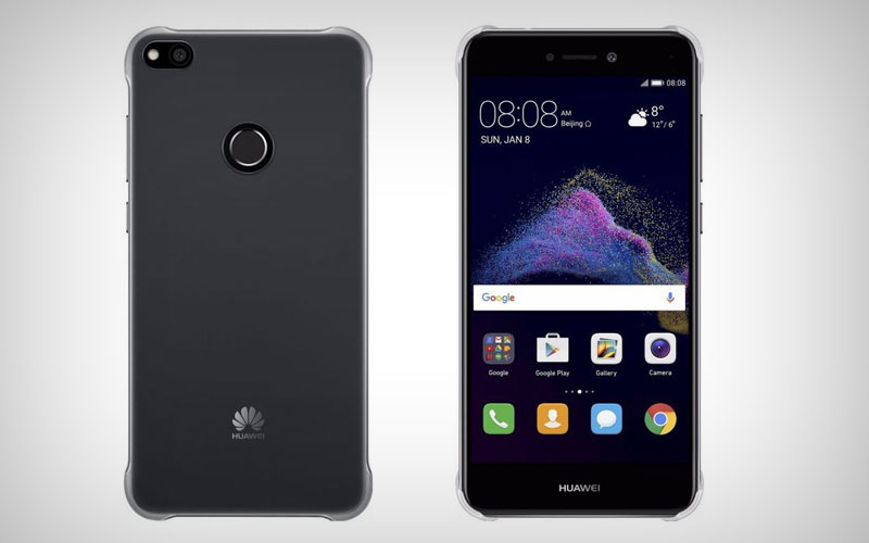 Huawei P8 Lite 2017 transparant hoesje backcover