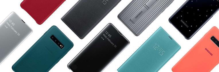 Originele Samsung Galaxy S10 Plus hoesjes