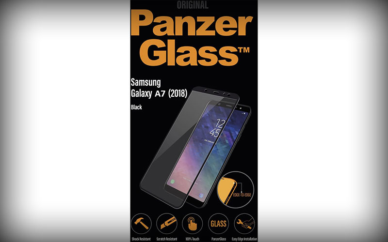 PanzerGlass Samsung Galaxy A7 2018 Edge To Edge Screenprotector