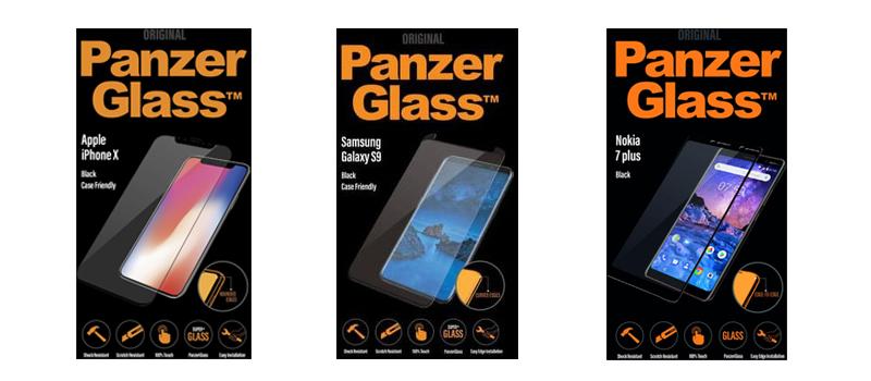 PanzerGlass screenprotectors